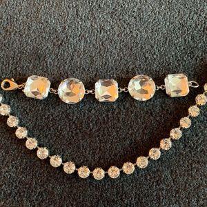 BCBG Sparkle Bracelet / Necklace Set